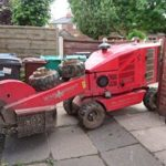 Stump Grinder in Prestbury