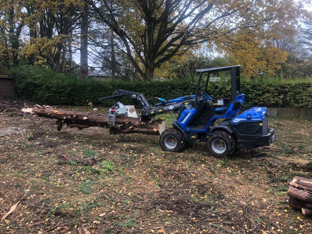 Wainwright Stump Removal | Professional Tree Stump Grinding and Removal Cheshire and the North West | Moving timber